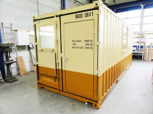 20 ft werkcontainer Fugro,2